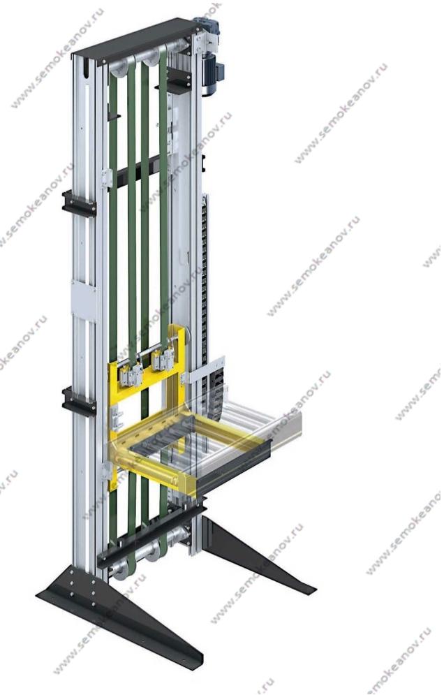 вертикальные конвейеры коробок
