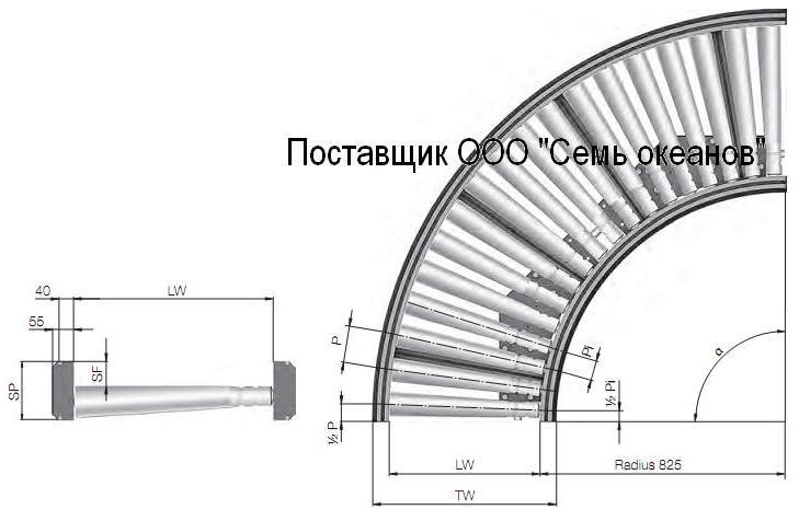 Поворотные секции конвейера изделия на конвейере за 5 минут продвигается на 4 м найдите скорость движения конвейера