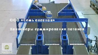 Разделение потоков на конвейере самарская область серноводский элеватор