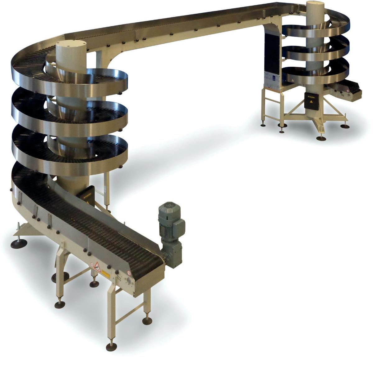 Устройстве спирального конвейера чековая лента для элеватора